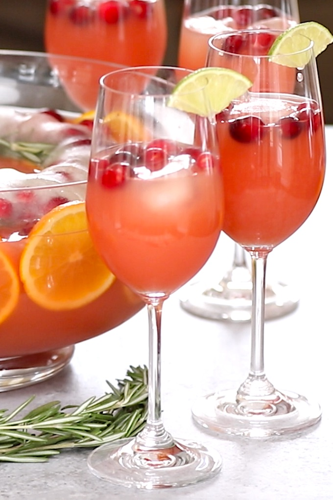 Mimosa is a classic sparkling beverage made with dry sparkling wine and orange juice, traditionally served with brunch. It's one of my favorite cocktail recipes!