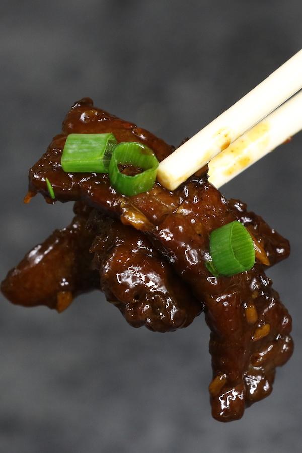 Tender and juicy beef stir fry