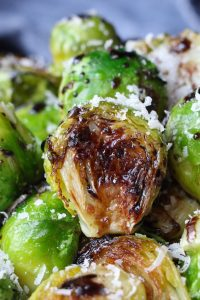 These Sous Vide Brussels Sprouts are so flavorful and evenly cooked edge-to-edge. Even the pickiest eater will love them! The sous vide cooking followed by a quick sear in the pan achieves the ideal texture that's tender in the center and beautifully caramelized and crispy on the outside.