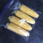 Place corn and butter in a large resealable bag in one layer.