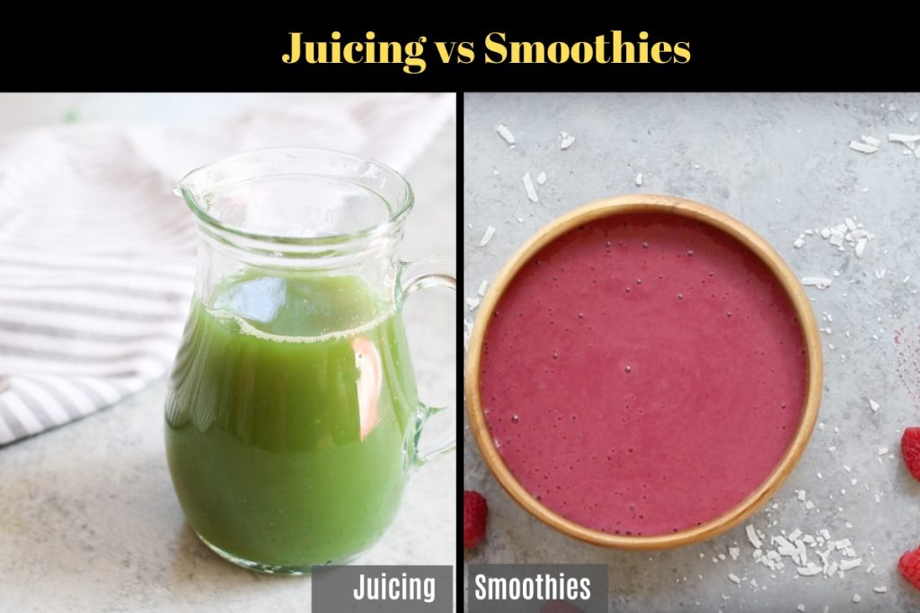 Juicing vs smoothies – explore the differences between the two popular drinks, their health benefits, nutrition and which one is better for you. You'll find everything you need to know about juice vs smoothie with this complete guide.