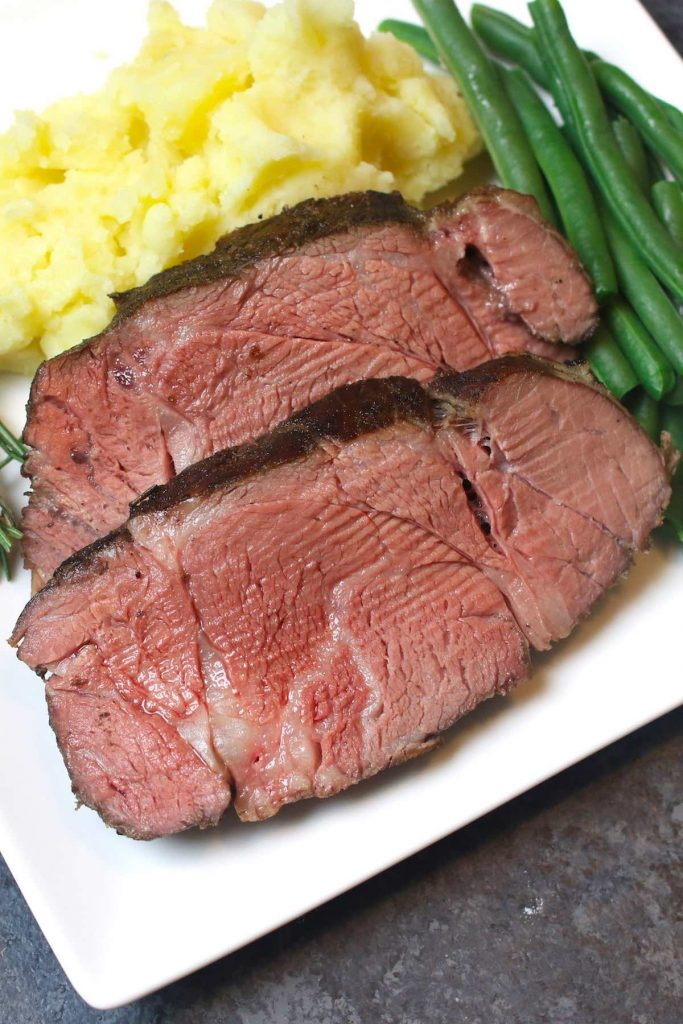 Sous Vide Chuck Roast is incredibly flavorful, tender and juicy, unlike the pot roast cooked the traditional way. Sous vide method transforms the cheap tough cut of a chuck roast into the most delicious beef roast that rivals the expensive prime rib. Oh my, it's a game-changer! #SousVideChuckRoast