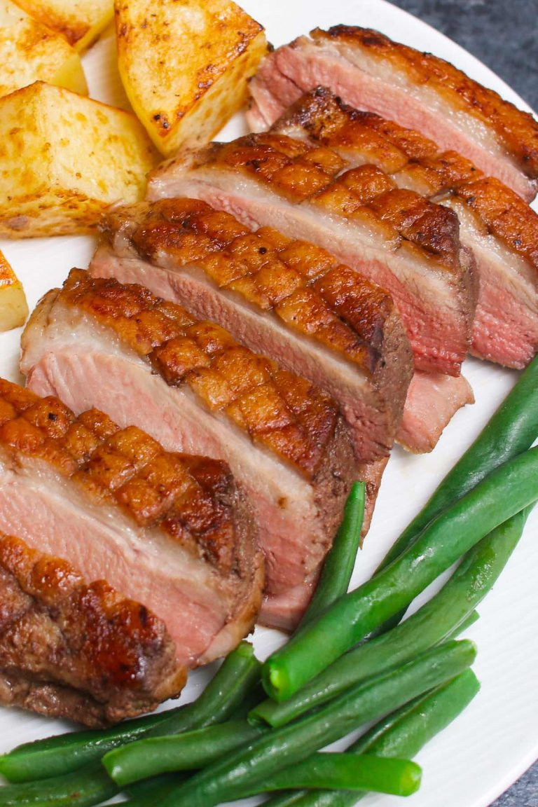 These Sous Vide Duck Breasts have crispy skin on the outside and deeply rich and tender meat on the inside. Sous vide method will have you cooking like a pro, making the restaurant-quality duck breasts at your own home!