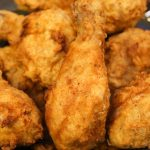 Sous Vide Fried Chicken is crispy and crunchy on the outside with the most tender and juicy meat on the inside. It's the easiest way to fry chicken as sous vide produces evenly cooked meat, which is then coated with flour and buttermilk and deep fried quickly to golden perfection. #SousVideFriedChicken #FriedChicken