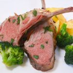 Sous Vide Rack of Lamb is a perfect and elegant holiday dinner recipe that's mouth-watering delicious and foolproof. The rack of lamb is seasoned with garlic, rosemary, thyme, salt and freshly ground black pepper, and then cooked in the sous vide warm water bath to your desired doneness with the precise temperature!
