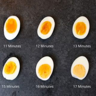 These Air Fryer Hard Boiled Eggs are cooked to perfection EVERY TIME! It's the best way to cook hard boiled eggs and I'll share my favorite tips with you and take all of the guesswork out.