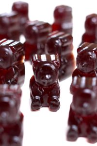 These Elderberry Gummies are delicious, sweet, and immune boosting snack that's made with dried elderberries, herbs, and gelatin. This recipe is easy and fun to make with kids, great for fighting off a flu or cold. I'll share with you simple tips to make the best elderberry syrup gummies! #ElderberryGummies #ElderberryGummyBear