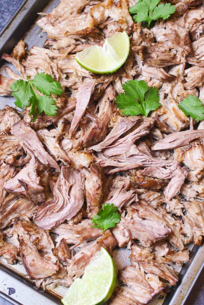 With the sous vide method, there's no chance of overcooking, and the meat turns out extremely flavorful and tender EVERY TIME. Serve it with sandwiches or burritos, and top with BBQ sauce. You can also easily turn it into Pork Carnitas for Tacos.
