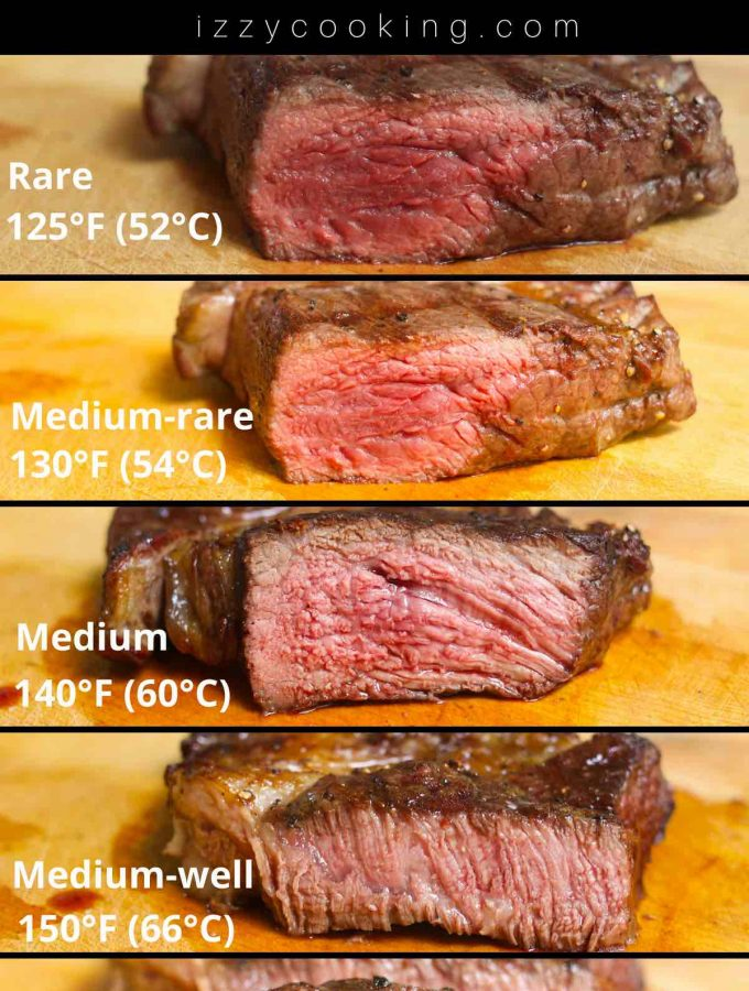 Selecting the right temperature and doneness is the most important step to sous vide cook a steak. Whether you like a super juicy and rare steak, medium, or a well-done steak, sous vide machine provides the precise temperature control. Here is a complete guide for cooking the best steak ever! #SousVideSteakTemp #SousVideSteak