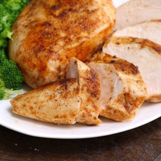 This Sous Vide Boneless Chicken Breasts recipe makes super juicy and tender chicken that's impossible to achieve with traditional method! Forget dry chicken breasts with sous vide technique, which allows you to control the temperature precisely and produces the perfect chicken that's full of flavor!