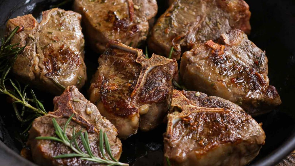 These Rosemary Garlic Sous Vide Lamb Chops are super tender and so flavorful! The sous vide technique allows you to cook better lamb chops than the restaurant. The lamb is precisely and evenly cooked to the temperature you set with your desired doneness!