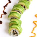 This Caterpillar Roll recipe is made with delicious unagi and crunchy cucumber rolled in seaweed sheet and sushi rice, with an avocado topping. You can customize the roll with other delicious fillings. It's so easy to make and I'll share with you the secrets on how to make an avocado wrapper!