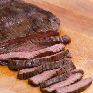 This Balsamic Marinated Sous Vide Flank Steak is melt-in-your-mouth tender and juicy. The balsamic, honey, and soy sauce based marinade makes this cut extra flavorful, and the sous vide method allows you to cook it to perfection – turning this cheap cut better than your favorite steakhouse!