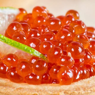 Learn how to turn salmon roe to the delicious caviar at home with just a few ingredients. I'll share with you the tips on making this delicacy from raw fish eggs or salmon eggs. You'll find everything you need about salmon caviar/ikura and how to use it in recipes.