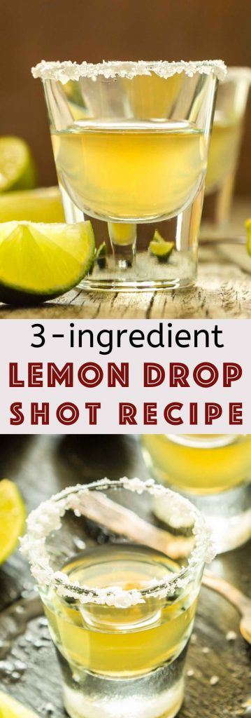 Lemon drop shots are one of my favorite drinks when I'm out and about. It's sweet and tart with lots of lemony flavors. After years of ordering it at bars, I finally decided it's time to learn how to make a great lemon drop shot recipe at home. #LemonDropShot #LemonDrop #LemonDropShotRecipe