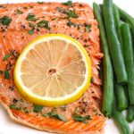 May I impress you with my perfectly tender Sous Vide Salmon? The salmon is cooked at the precise temperature you set, and it's so moist with a flaky texture. This sous vide salmon recipe is healthy, flavorful, and easy to customize with your favorite seasonings