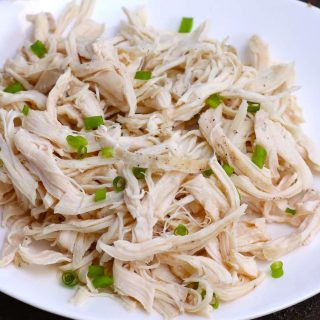 This Sous Vide Shredded Chicken is perfectly juicy and flavorful. The chicken breasts are sous vide cooked in a warm water bath at a precise temperature – the easiest way to cook sous vide chicken for shredding, from fresh or frozen! It's incredibly versatile and is a healthy addition to tacos, sandwiches, soups and salads.