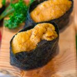 Uni is the Japanese word for the edible part of the sea urchin and often used in nigiri sushi, sashimi, or served with salad and pasta. Uni Sushi is a stable in many Japanese restaurants.