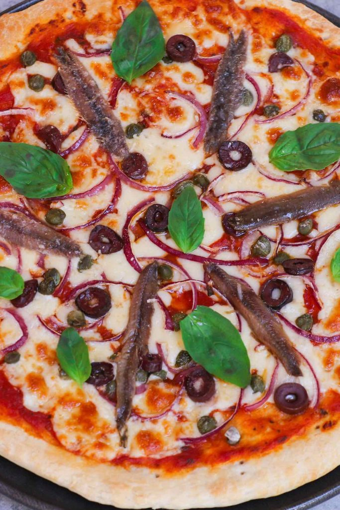 Best anchovy pizza recipe