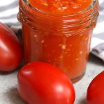 Plum tomatoes are colorful, egg-shaped tomatoes that are great for making thick tomato sauce and tomato paste due to its relatively low water content. So what are they exactly? How to use them? What are the sizes? How to make tomato sauce? Let's find out everything about plum tomato in this post! #PlumTomatoes