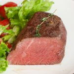 Learn how to make the perfect sous vide filet mignon – cooked in a warm water bath at the precise temperature and finished with a quick sear in a hot skillet. This sous vide beef tenderloin steak is super tender, juicy, and full of flavor! With a temperature and time chart for different doneness including rare, medium-rare, medium, medium-well, and well-done.