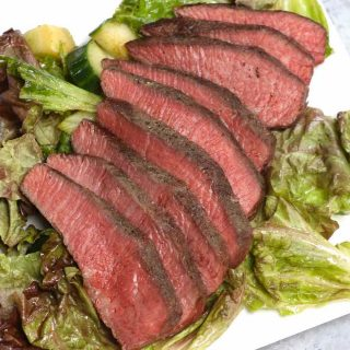 Sous Vide Flat Iron Steak is an easy and foolproof recipe to cook this affordable cut, delivering intense beef flavor with very tender texture. Cooking it at a precise temperature in the sous vide water bath and finishing with a quick pan sear produces the best result.