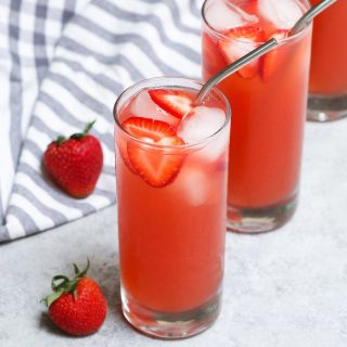 This homemade Starbucks Strawberry Acai Refresher gives you all the delicious flavor of the store-bought drink at the fraction of the price. You're going to love this copycat recipe as it tastes just like the real thing. Plus you can customize how much sweetness or caffeine you prefer