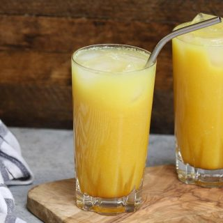Make a delicious and beautiful Starbucks Iced Golden Ginger Drink at home! Keep this dairy-free beverage healthy by using the healthy ingredients and save money. This DIY copycat yellow ginger drink has the perfect blend of coconut milk, ginger, pineapple, and turmeric flavor. It's an amazing refreshing fruity drink that takes less than 5 minutes to make.