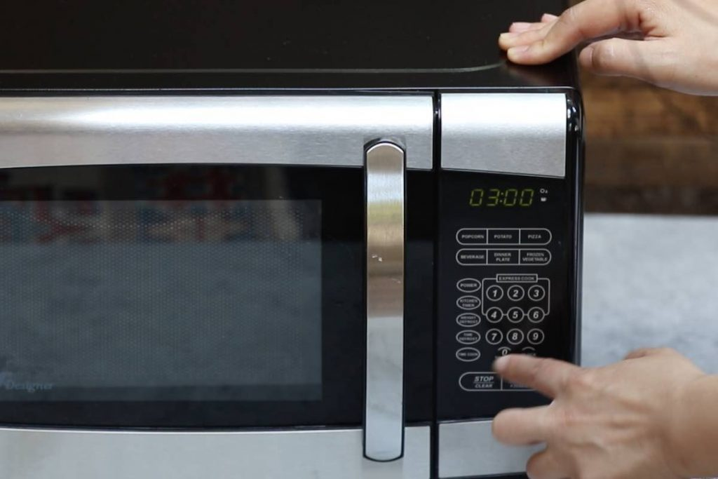Microwave for 3 minutes.