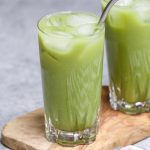 Have you tried the new Starbucks Iced Pineapple Matcha Drink? It's incredibly refreshing with a beautiful green color. This copycat vegan green tea drink is a real deal and has the perfect blend of coconut milk, matcha green tea, pineapple, and ginger flavor. When making it at home, you can customize easily with your desired sweet level and make it with or without caffeine.