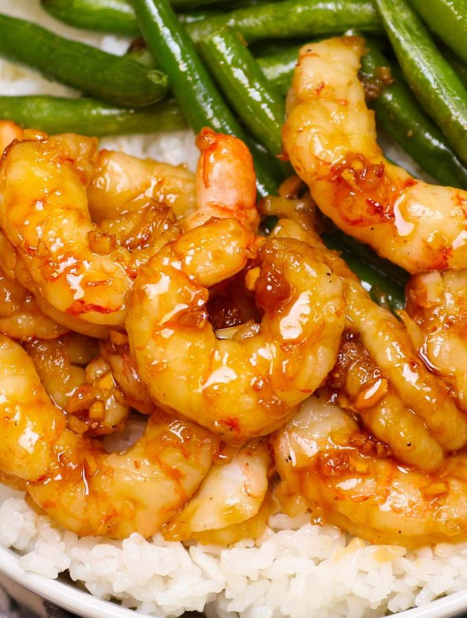 Sous Vide Shrimp makes the most tender and juicy shrimp that's impossible to achieve with traditional method. Ready in 20 minutes, this healthy dinner is so flavorful and lip-smacking delicious with the addictive honey garlic sauce. No more overcooked and chewy shrimp again. You can cook the shrimp from fresh or frozen! #SousVideShrimp