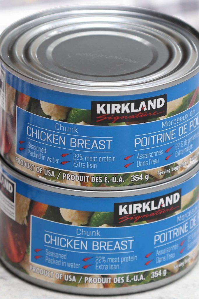 Canned Chicken Brand: Kirkland