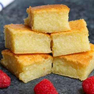This classic Hawaiian Butter Mochi is soft, sticky, chewy, and buttery – melt-in-your-mouth delicious! A tropical treat made with mochiko glutinous rice flour and coconut cream, this mochi cake is incredibly easy to make. Here's a step-by-step guide on how to make this dessert at home.