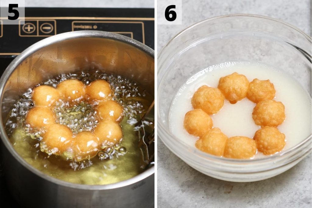 Mochi Donuts recipe: step 5 and 6 photos.
