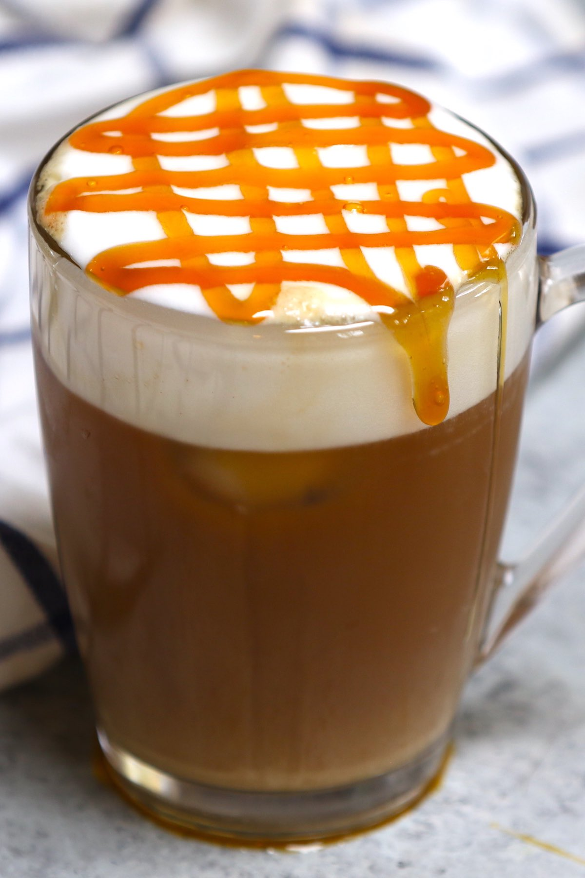 Iced Caramel Cloud Macchiato Starbucks Copycat Recipe