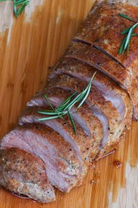 This Sous Vide Pork Loin is hands down the BEST way to cook pork loin roast, turning it to a perfectly tender and juicy dinner. The recipe is so easy – simply season, sous vide, and sear, for the most delicious and flavorful pork loin! Guaranteed results EVERY TIME! #SousVidePorkLoin #SousVidePorkLoinRoast