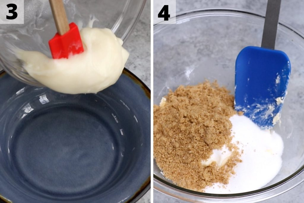Mochi Cookies recipe: step 3 and 4 photos.