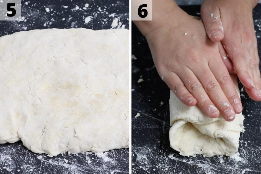 Popeyes Biscuits recipe: step 5 and 6 photos.