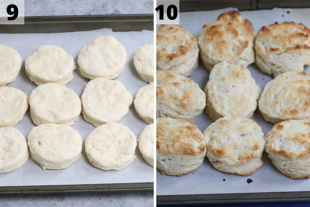 Popeyes Biscuits recipe: step 9 and 10 photos.