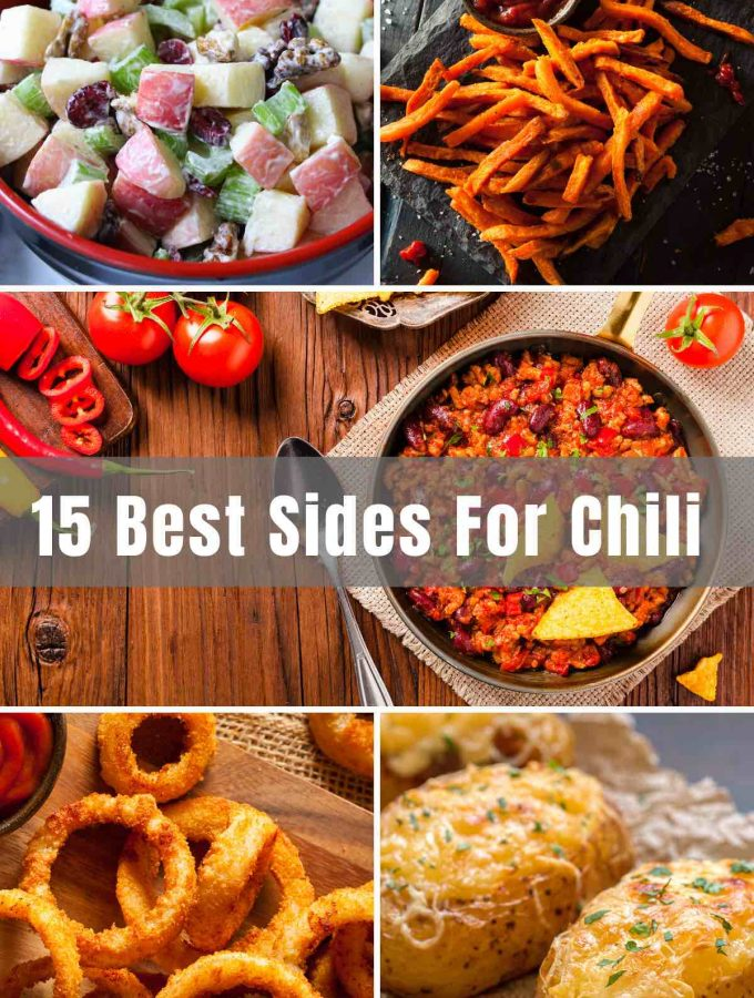 Chili is so flavorful and comforting, great to feed a crowd, especially on cold nights! This hearty dish is traditionally made with ground beef, beans, tomatoes, and delicious chili seasonings! The level of spice and the ingredients inside your favorite chili - the possibilities are endless! But what about chili sides? Sit back, relax, and enjoy all of these offerings.