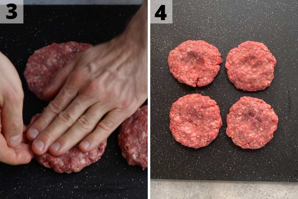Travis Scott Burger recipe: step 3 and 4 photos.