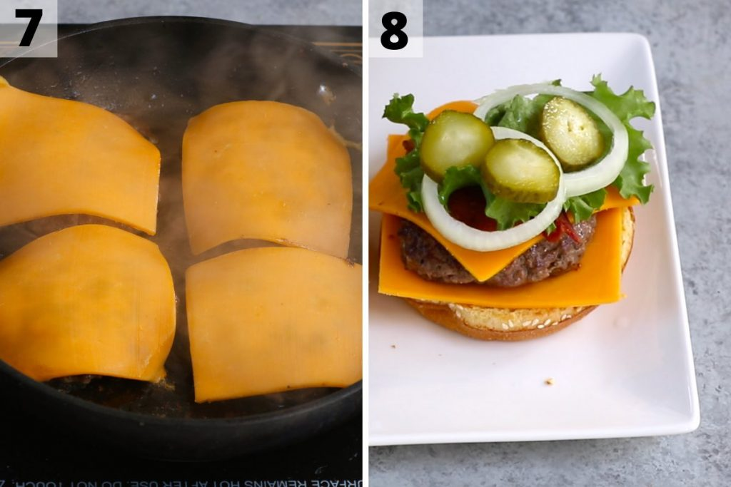 Travis Scott Burger recipe: step 7 and 8 photos.