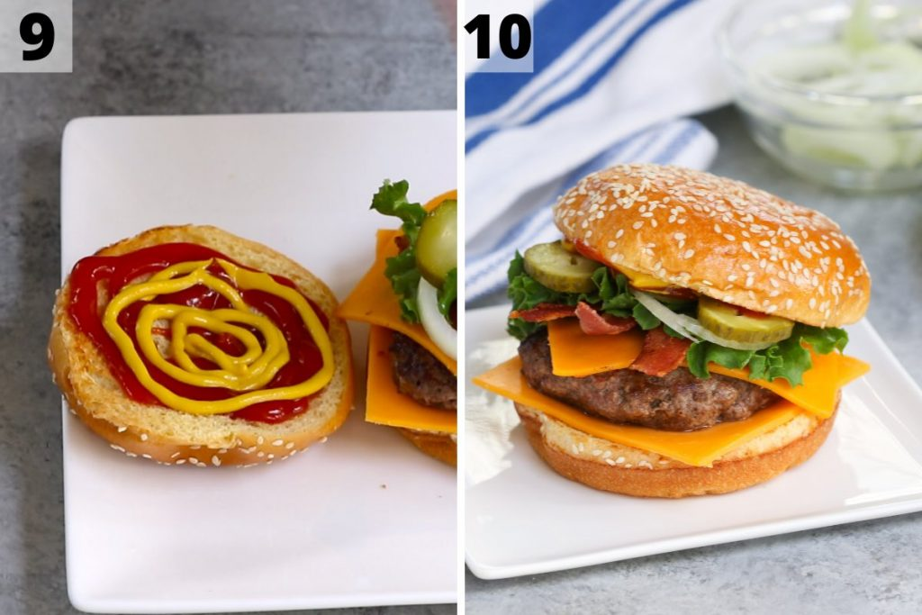 Travis Scott Burger recipe: step 9 and 10 photos.