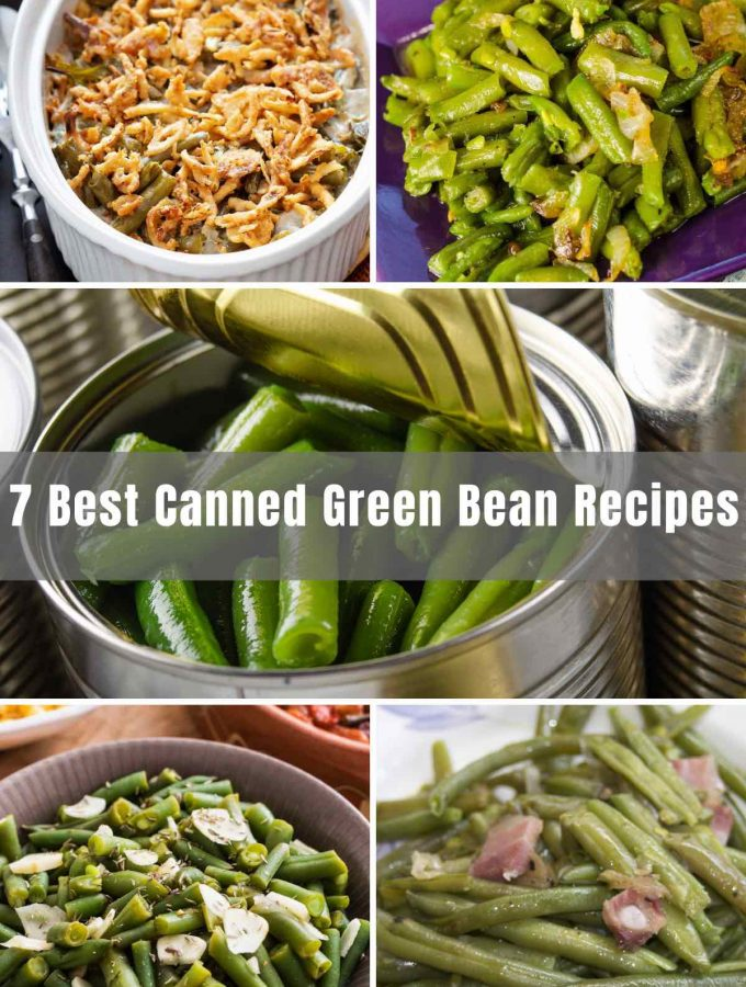 Canned Green Beans are a great way to ensure there's always something nutritious in your pantry. Here are 7 easy canned green bean recipes to make this popular canned veggie taste even better than the fresh ones! From Sauteed Garlic Green Beans to Green Bean Casserole to Parmesan Canned Green Beans, these recipes are easy, flavorful, and quick to prepare.