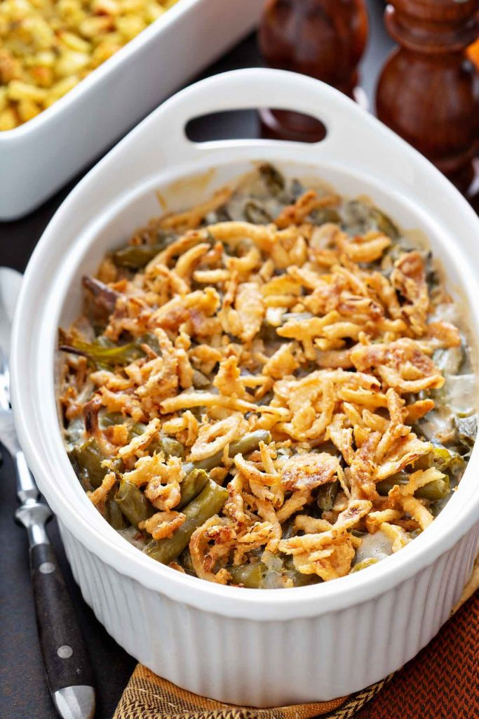 Canned green bean casserole