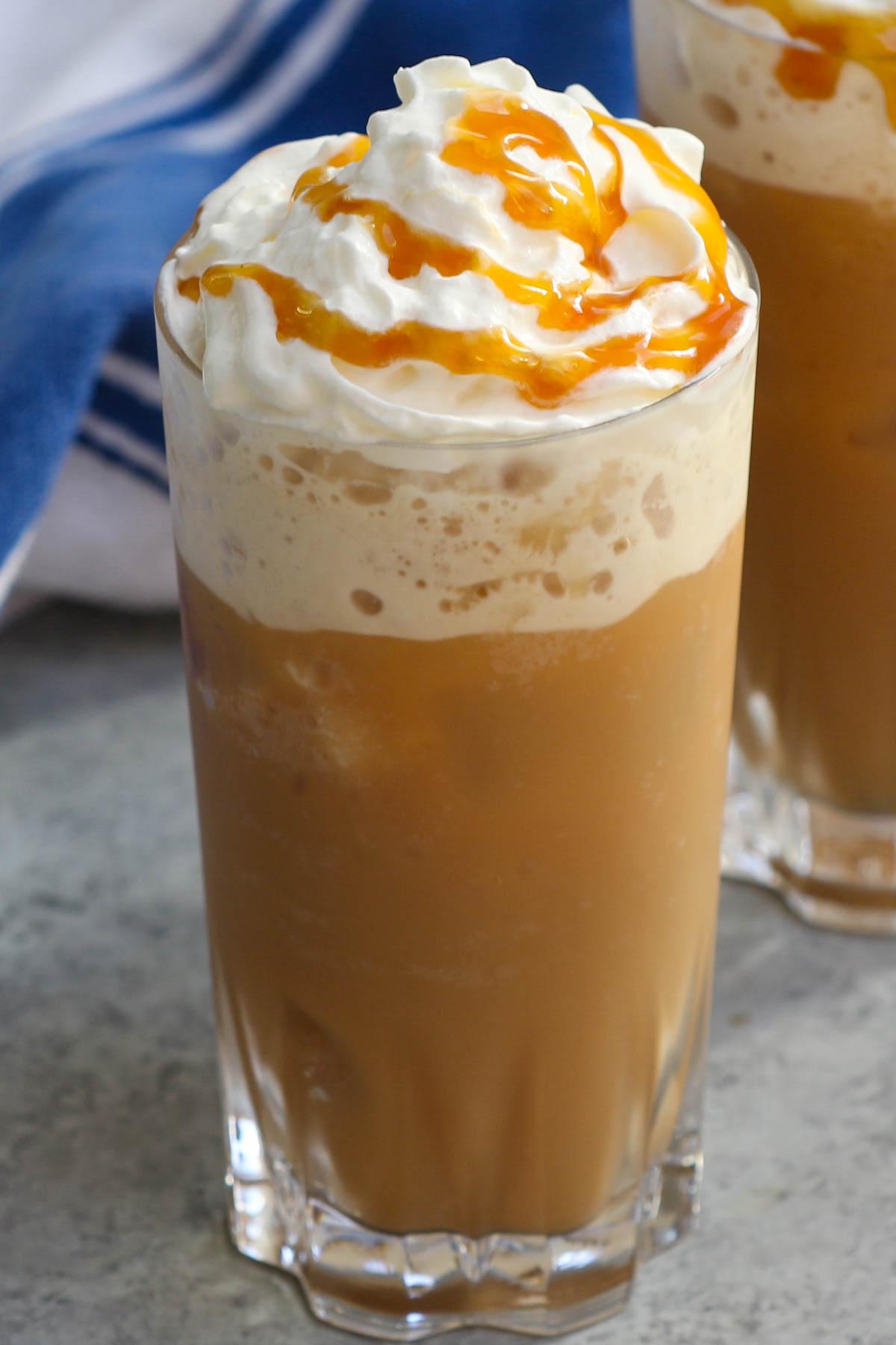 Best Homemade Caramel Frappe Starbucks Caramel Frappuccino Copycat Recipe