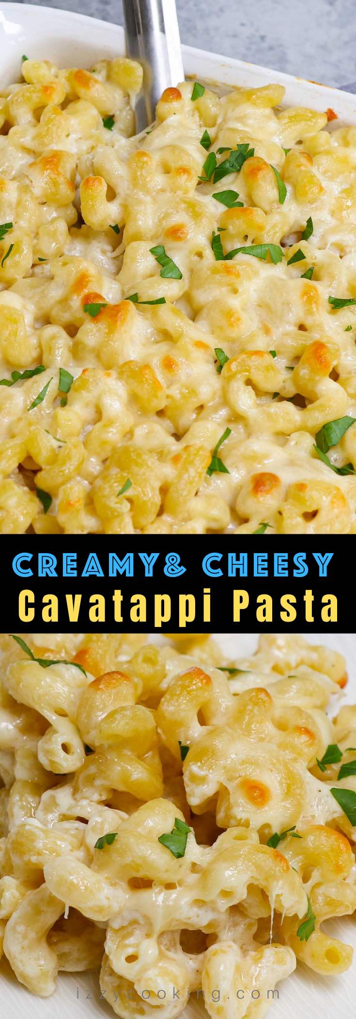 This creamy and cheesy Cavatappi Pasta is a grown-up version of mac and cheese. Also called corkscrew pasta, cavatappi noodles are delicious on its own or served as a side at your next family dinner. I used a homemade cheese sauce to take this recipe over the top!