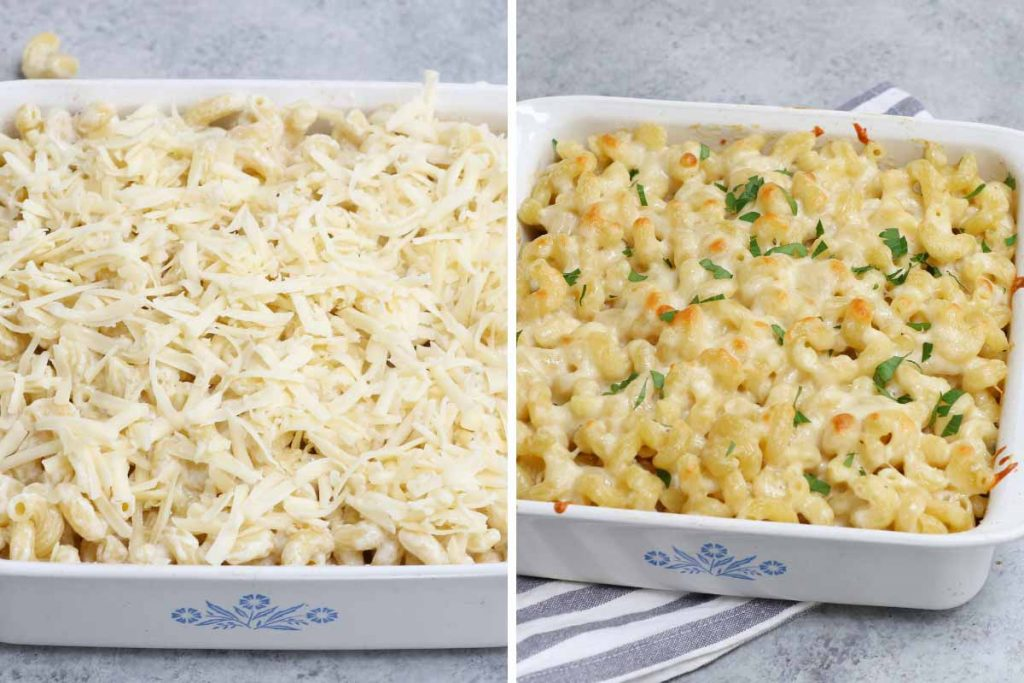 Cavatappi pasta recipe: bake the recipe.