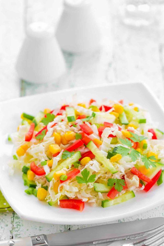 Corn and Tomato Coleslaw
