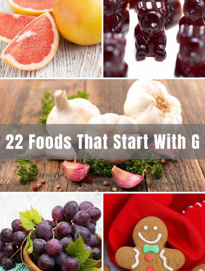 """Let's hope our list of Foods that Start with """"G"""" will give you some inspiration for some fun cooking. We've delved into the normal, abnormal, and foods you may have never heard of. So get your cook on, and follow along!"""